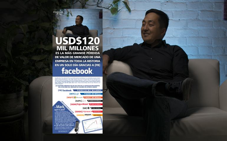[INFOGRAFÍA] USD$120 Mil Millones Es La Más Grande Pérdida De Valor De Mercado De Una Empresa En Toda La Historia En Un Solo Día [FB] Facebook – Hyenuk Chu