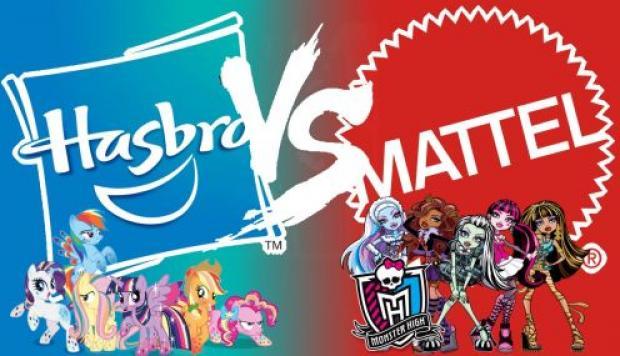 Mattel y Hasbro podrían unirse o seguir compitiendo.