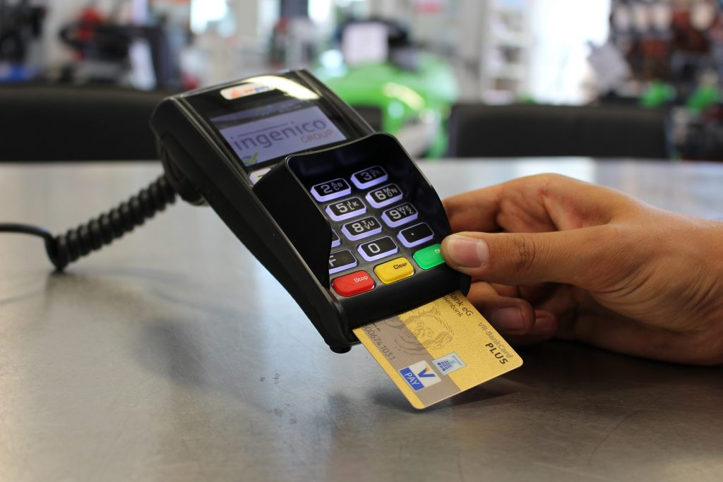 La tarjeta es otra modalidad de pago.