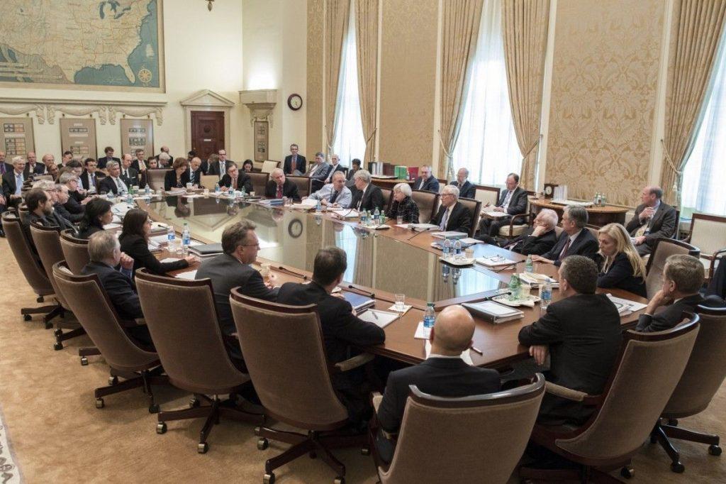 En el FOMC se habló de los aranceles.