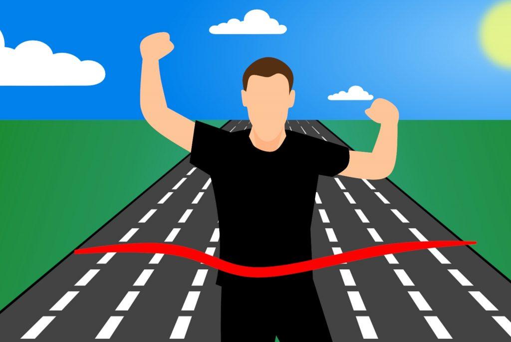 Una de las ventajas de correr es trazarnos metas.