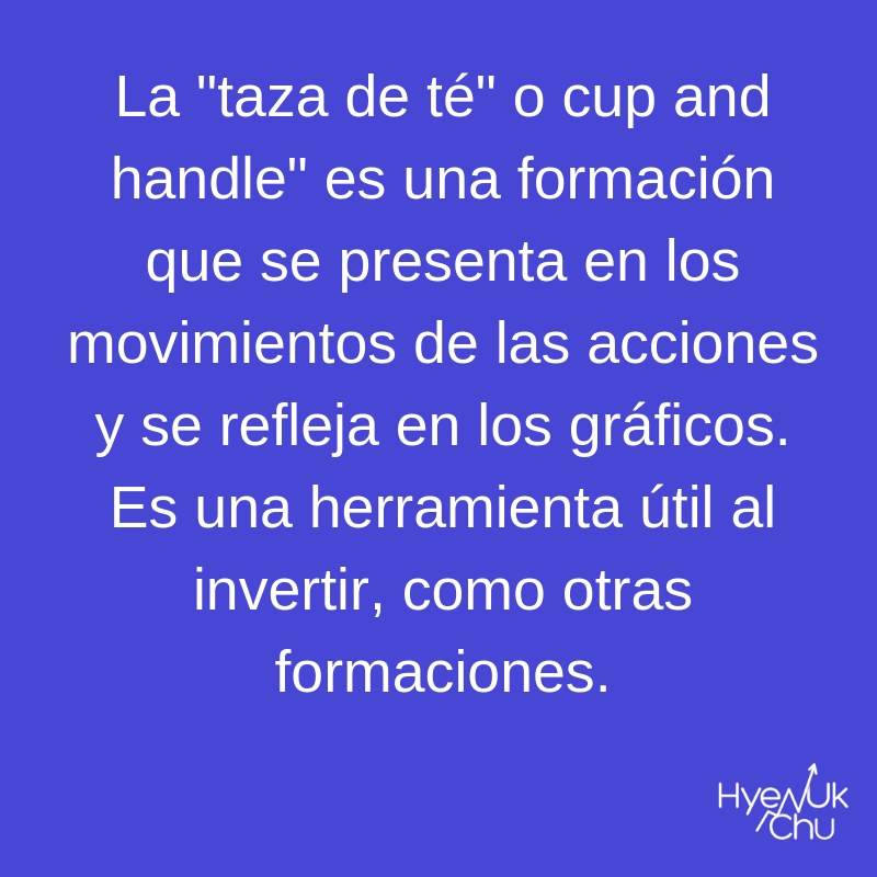 No olvides esto sobre la taza de té o cup and handle.