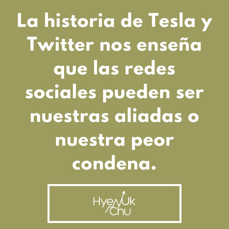 Dato clave sobre la historia de Tesla y Twitter.