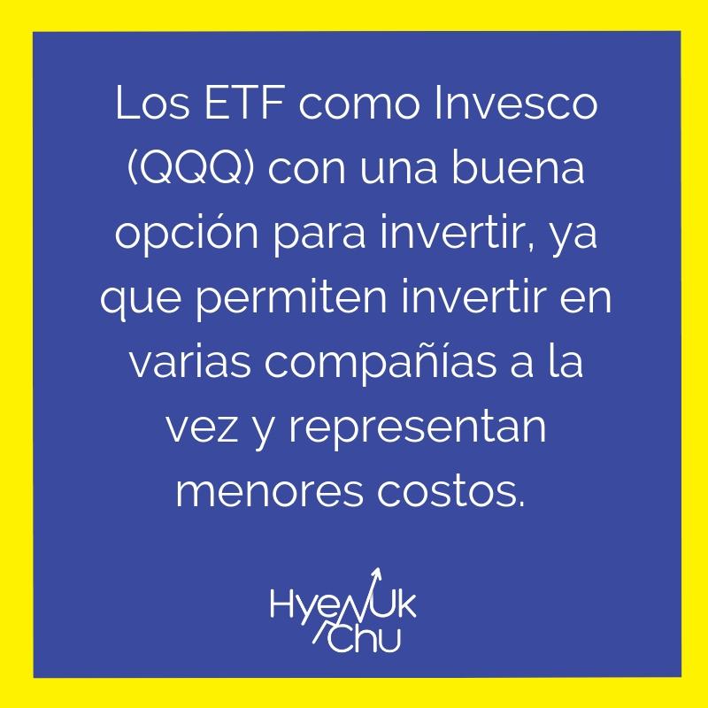 Recuerda esto al invertir en ETF.