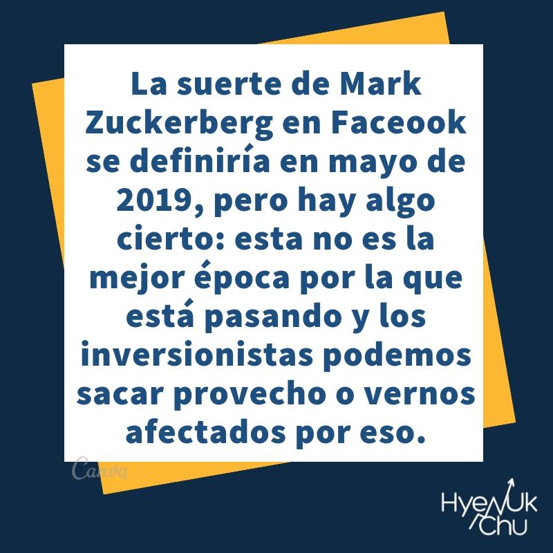 Facebook podría quedarse sin Mark Zuckerberg.