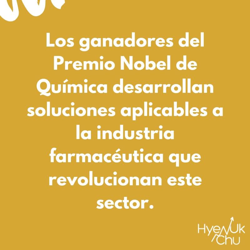 Nobel de Química y Bolsa de Valores.