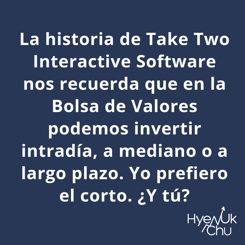 Puedes invertir en Take Two Interactive Software.