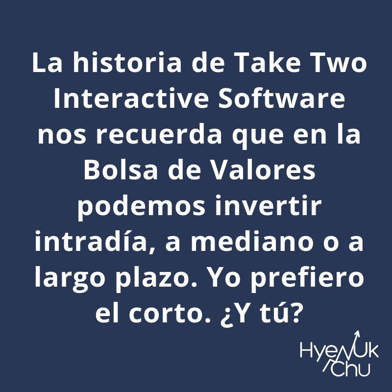 Puedes invertir en Take Two Interactive Software.