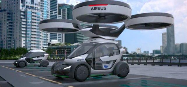 Airbus está detrás de los autos voladores.