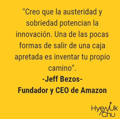 Frase sobre Amazon, que crearía el Banco Amazon.