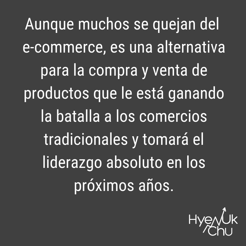 No pierdas de vista al e-commerce.