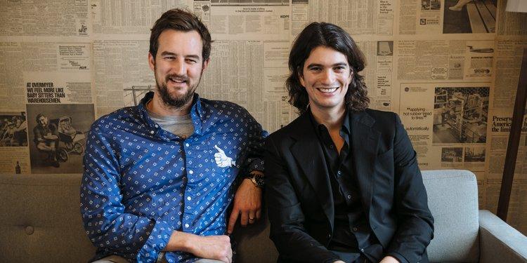 Estos emprendedores fundaron WeWork.