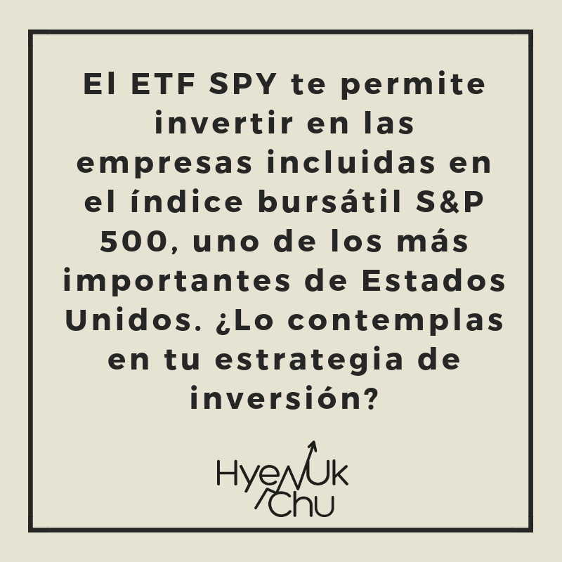 Dato clave del ETF SPY.