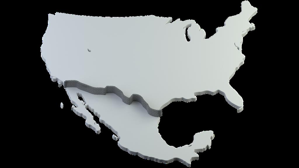 El muro en la frontera causó el government shutdown.