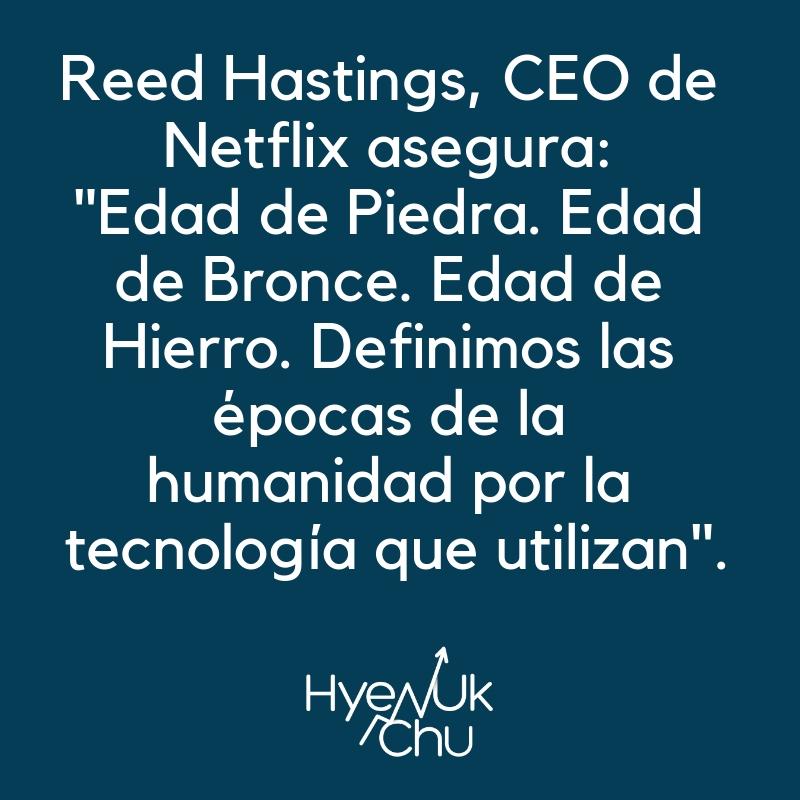 Clave sobre Netflix en la Bolsa.