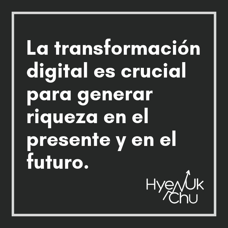 Clave sobre la transformación digital - Hyenuk Chu