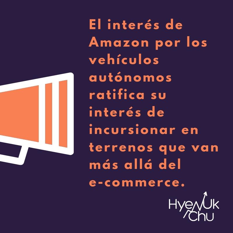 Para no olvidar sobre el auto Amazon -Hyenuk Chu