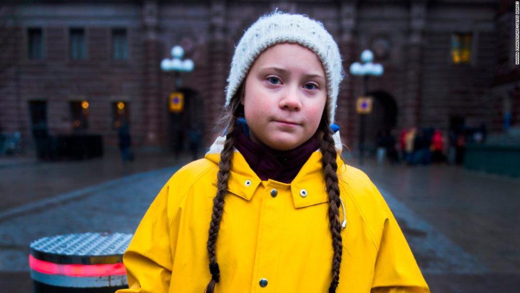 Greta Thunberg lucha contra el cambio climático - Hyenuk Chu