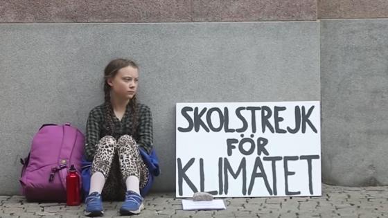 [Greta Thunberg] La Niña Que Encabeza La Lucha Contra El Cambio Climático – Hyenuk Chu