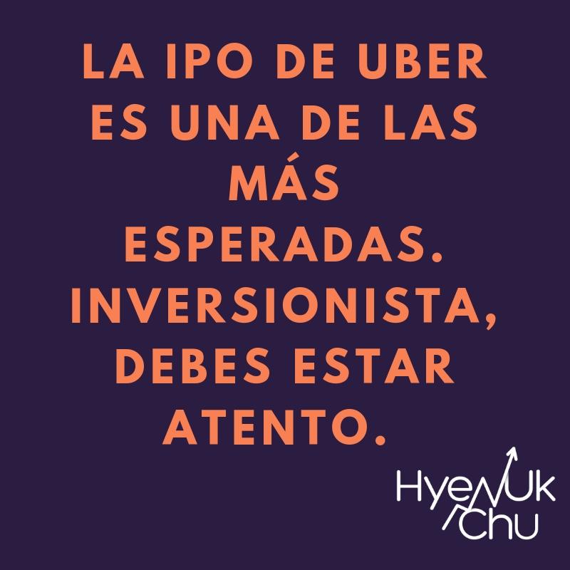 Por qué Uber cotizará en Bolsa y tú debes saberlo - Hyenuk Chu