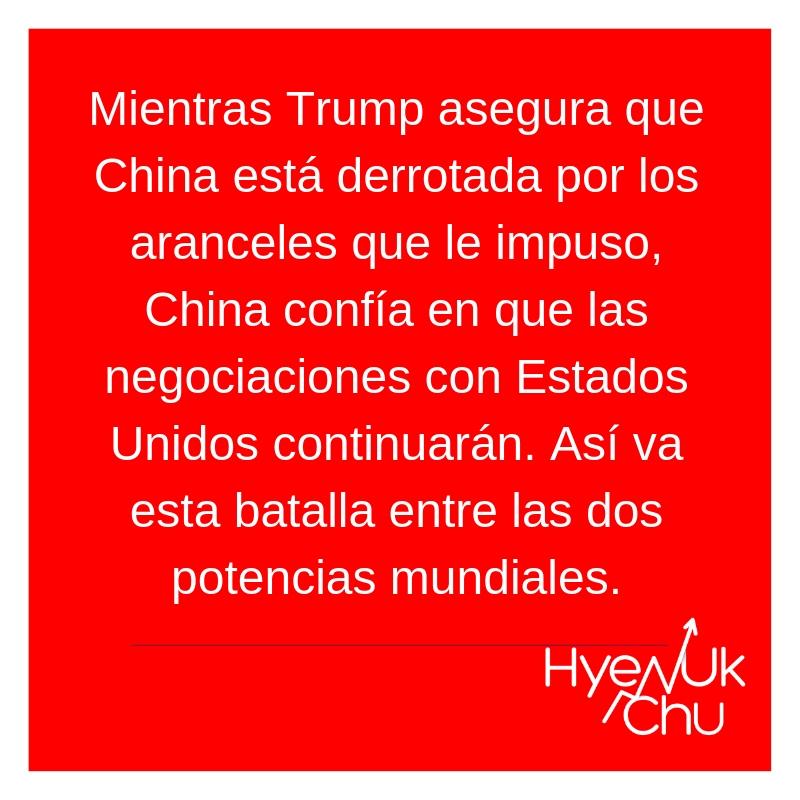 El futuro de la guerra comercial entre Trump y China - Hyenuk Chu