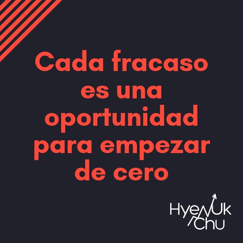 Clave sobre fracasos en el trading - Hyenuk Chu