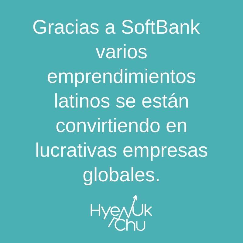 Lo que hace SoftBank - Hyenuk Chu