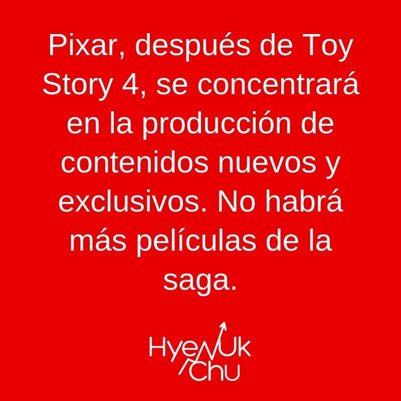 Lo que hará Pixar ahora - Hyenuk Chu