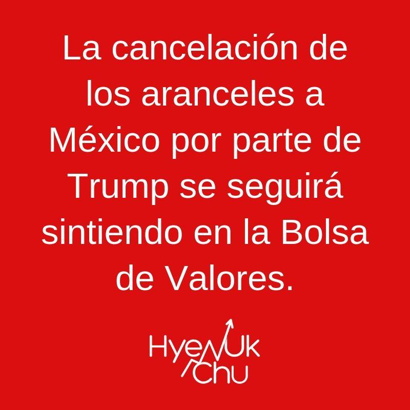 Clave sobre guerra comercial Trump Vs México - Hyenuk Chu