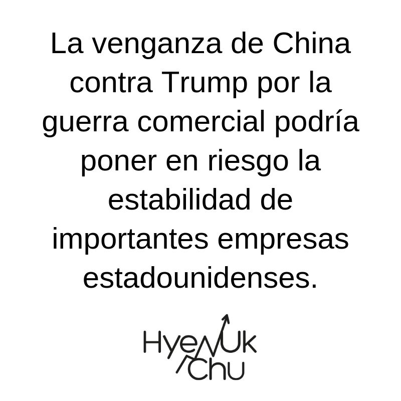 Clave de la disputa China Vs Trump - Hyenuk Chu