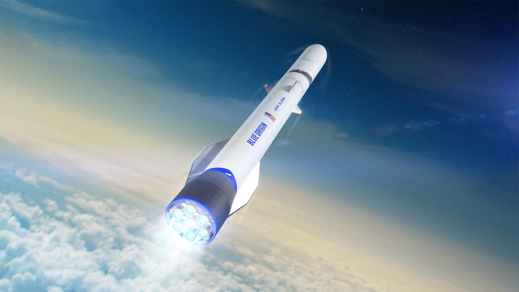 Blue Origin es un actor en la carrera espacial - Hyenuk Chu