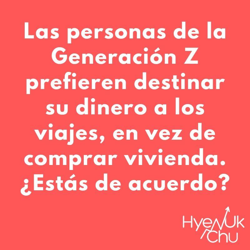 Tip para comprender a la Generación Z - Hyenuk Chu