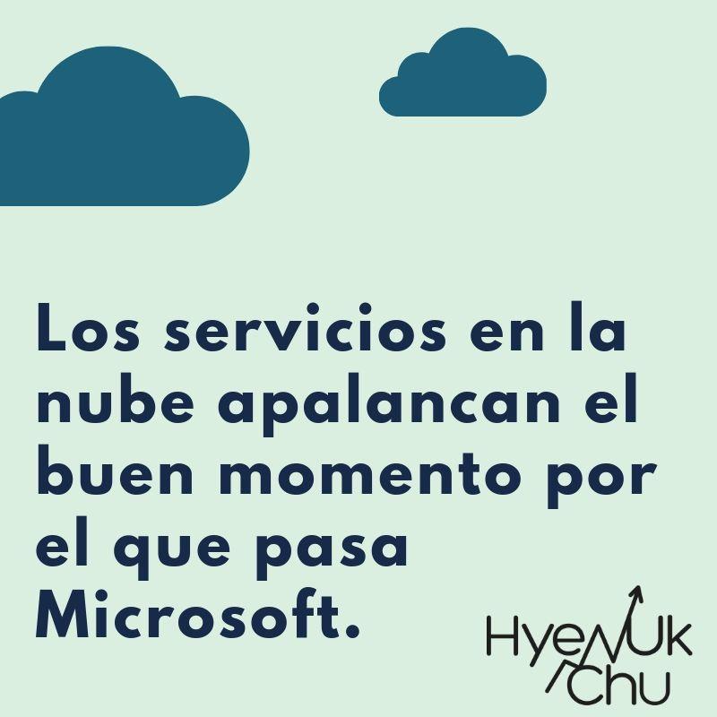 Clave sobre el triunfo de Microsoft en la Bolsa - Hyenuk Chu