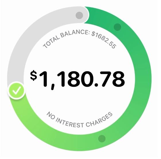 La Apple Card da un balance de las transacciones - Hyenuk Chu