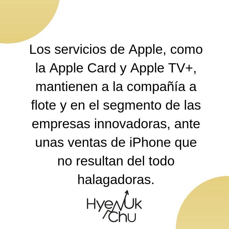 Clave sobre la Apple Card - Hyenuk Chu