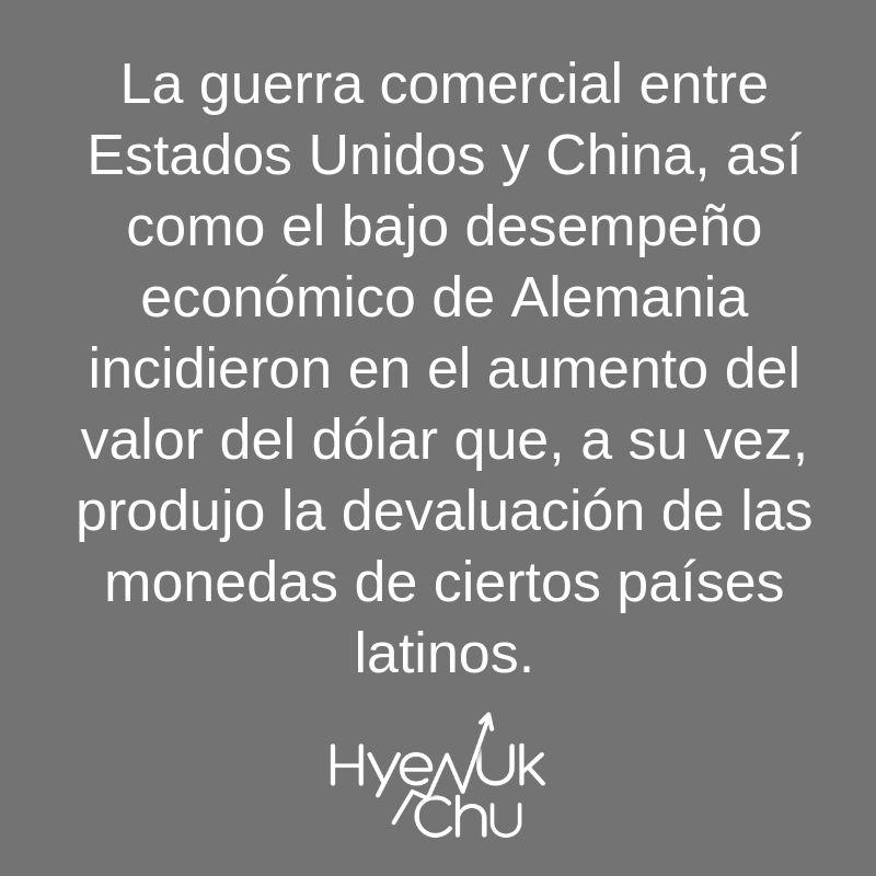 Clave para comprender el aumento del precio del dólar - Hyenuk Chu