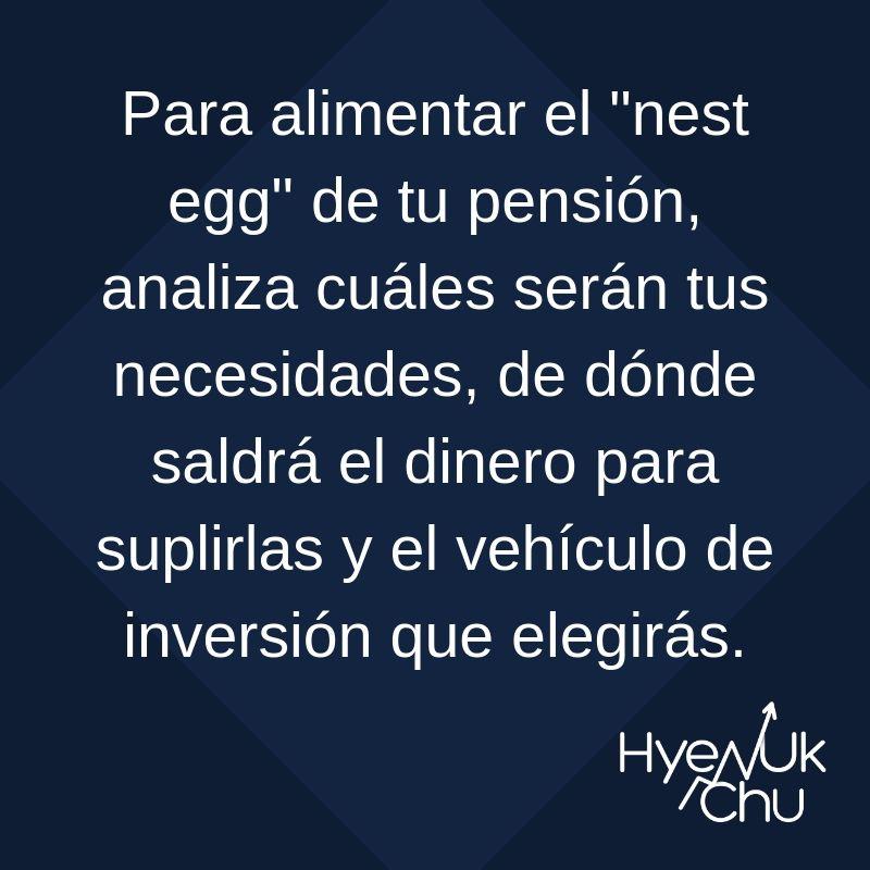 Clave sobre tu pensión - Hyenuk Chu