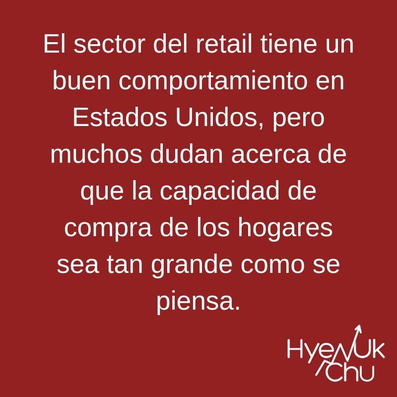 Retail en la economía de Estados Unidos - Hyenuk Chu
