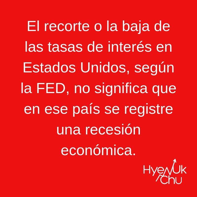 Tip sobre el recorte a las tasas de interés - Hyenuk Chu