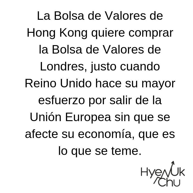 Bolsa de Hong Kong y Bolsa de Londres - Hyenuk Chu
