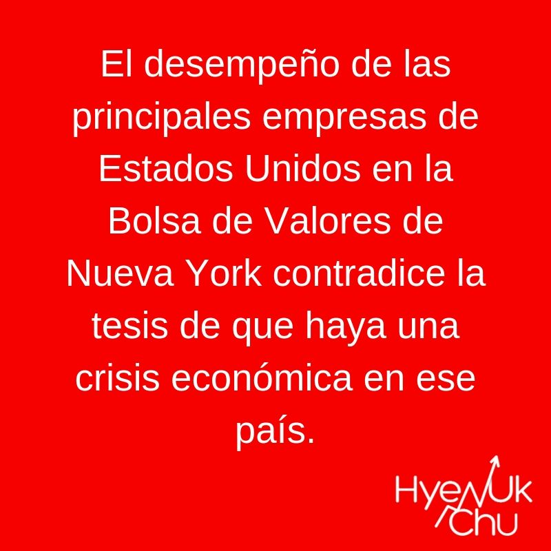 Clave sobre la crisis en Estados Unidos - Hyenuk Chu