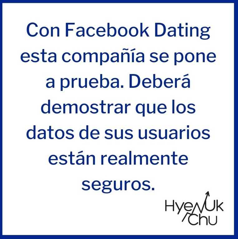 Tip sobre Facebook Dating - Hyenuk Chu