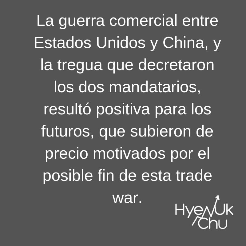 Clave sobre futuros y trade war - Hyenuk Chu