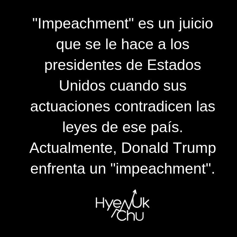 Clave sobre el impeachment - Hyenuk Chu