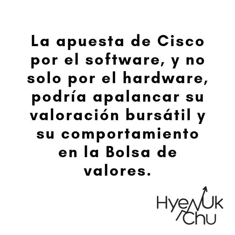 Dato clave sobre Cisco - Hyenuk Chu