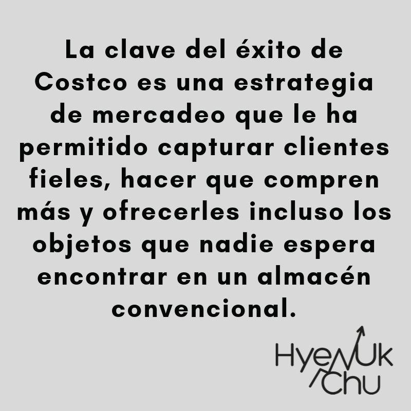 El éxito de Costco - Hyenuk Chu