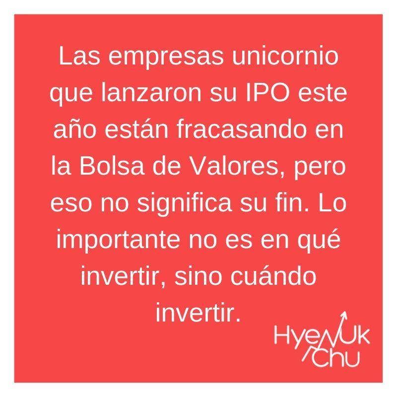 Definición de empresas unicornio - Hyenuk Chu