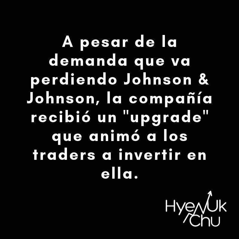 La situación de Johnson y Johnson - Hyenuk Chu