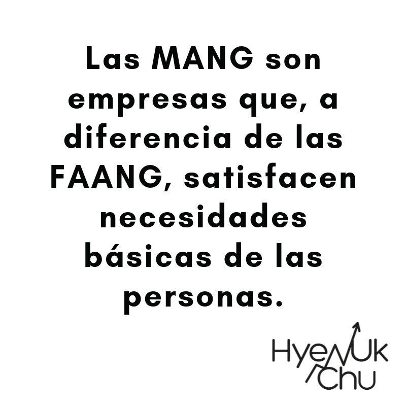 Dato clave sobre las MANG - Hyenuk Chu