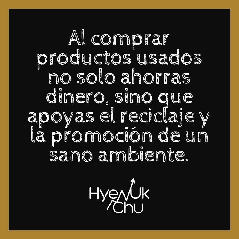 Tip sobre los productos usados - Hyenuk Chu